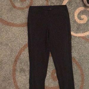 Express black leggings